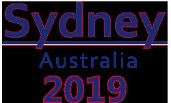 Sydney, Australia 2019 logo