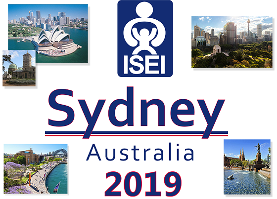 Views of Sydney, logo of ISEI, Sydney Australia, June 25-June 28, 2019