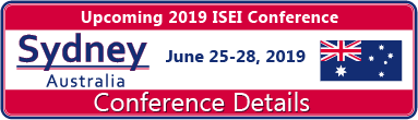 Upcoming 2019 ISEI Conference in Sydney, Australia, June 25-28 2019 Conference Details.