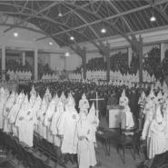 Photographs from the KKK in Washington State