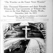 Cover of Watcher on the Tower, July 21, 1923