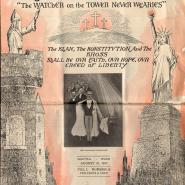Cover of Watcher on the Tower, August 25, 1923