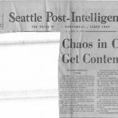 Chaos In Court 7 Sentenced For Contempt, Seattle PI, 12/15/1970 pt. 1