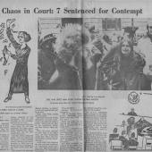 Chaos In Court 7 Sentenced For Contempt, Seattle PI, 12/15/1970 pt. 2