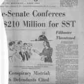 Conspiracy Mistrial Ruled, Six Defendants Cited In Contempt, SPI, 12/11/1970 pt. 1