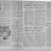 Conspiracy Trial Walkout When Juror Is Removed, 11/25/1970
