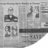 Contempt Hearing Opens Monday In Tacoma, SPI, 12/13/1970
