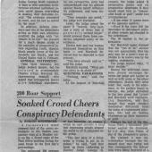 Court Attorneys Quiz Jurors For Objectivity Prejudgment, 11/24/1970
