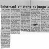 Informant Off Stand As Judge Studies Diary, The Seattle Times, 12-9-1970