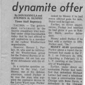 Informant Tells Of Dynamite Offer, The Seattle Times, 12/2/1970 pt. 1