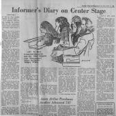 Informer's Diary On Center Stage, Seattle PI, 12/8/1970 pt. 2