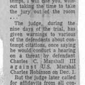 Judge Issues A Final Warning, 12/10/1970