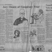 Jury Chosen For Conspiracy Trial, Seattle PI, 11/26/1970