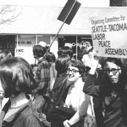 Seattle Center protest, c. 1968-1969