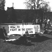 Young Socialist Alliance on campus, March 1970