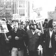 ROTC protest 2, March 6, 1969