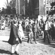 ROTC protest 3, March 6, 1969