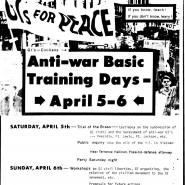 Anti-war Basic Training