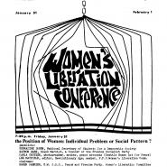 Women's Liberation Conference
