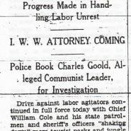 Yakima Daily Republic, August 29, 1933, pg. 1