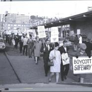 UFW Solidarity, Queen Anne Safeway, 1969 WSFT Convention