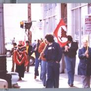 UFW solidarity, KC Auto Trades Strike, 1977