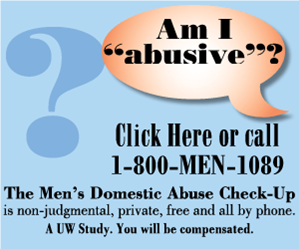 Men's Domestic Abuse Check-Up