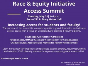 Race and Equity Initiative – Access Summit