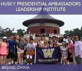 Husky Presidential Ambassadors (HPA) Leadership Institute – Study in China