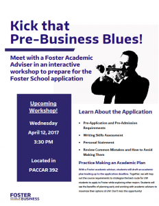 Foster Application Workshop tomorrow (Wednesday)!