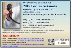 UW School of Medicine – Admissions forums