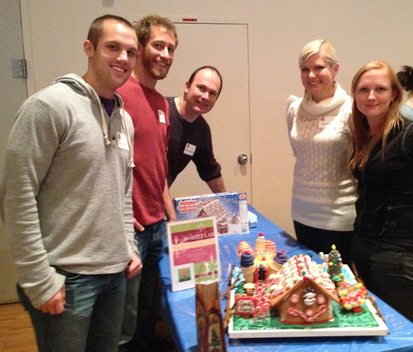 Winning Gingerbread house