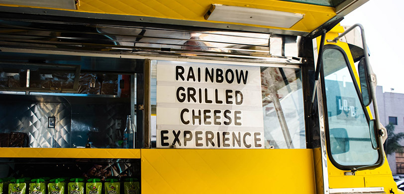 Grilled Cheese Truck for Food Truck Rodeo NUTR 390A Course