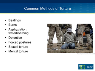 Impact of Torture on Medical Care: Part 1