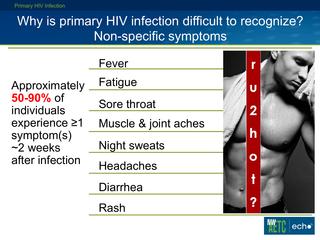 Primary HIV