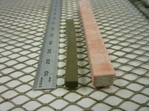 3DP glass test bars