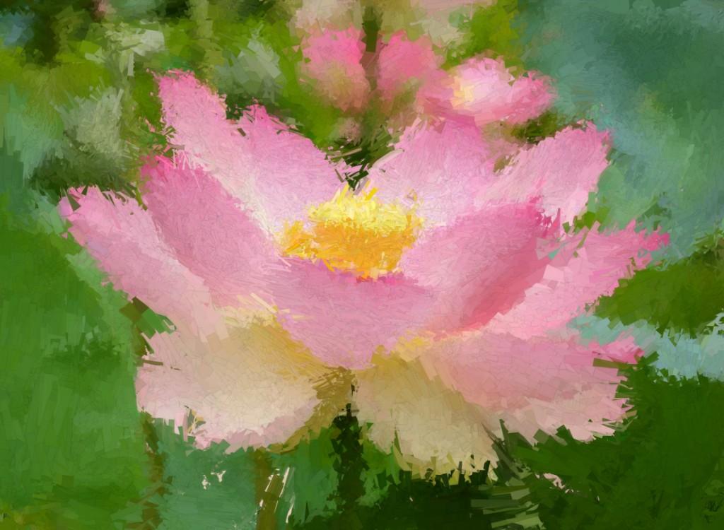 flowerPsykopainted