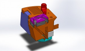 an attempt was made to create a ducted fan to maintain air velocity.
