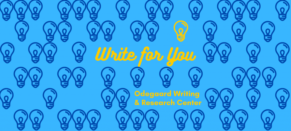 Write for You Image