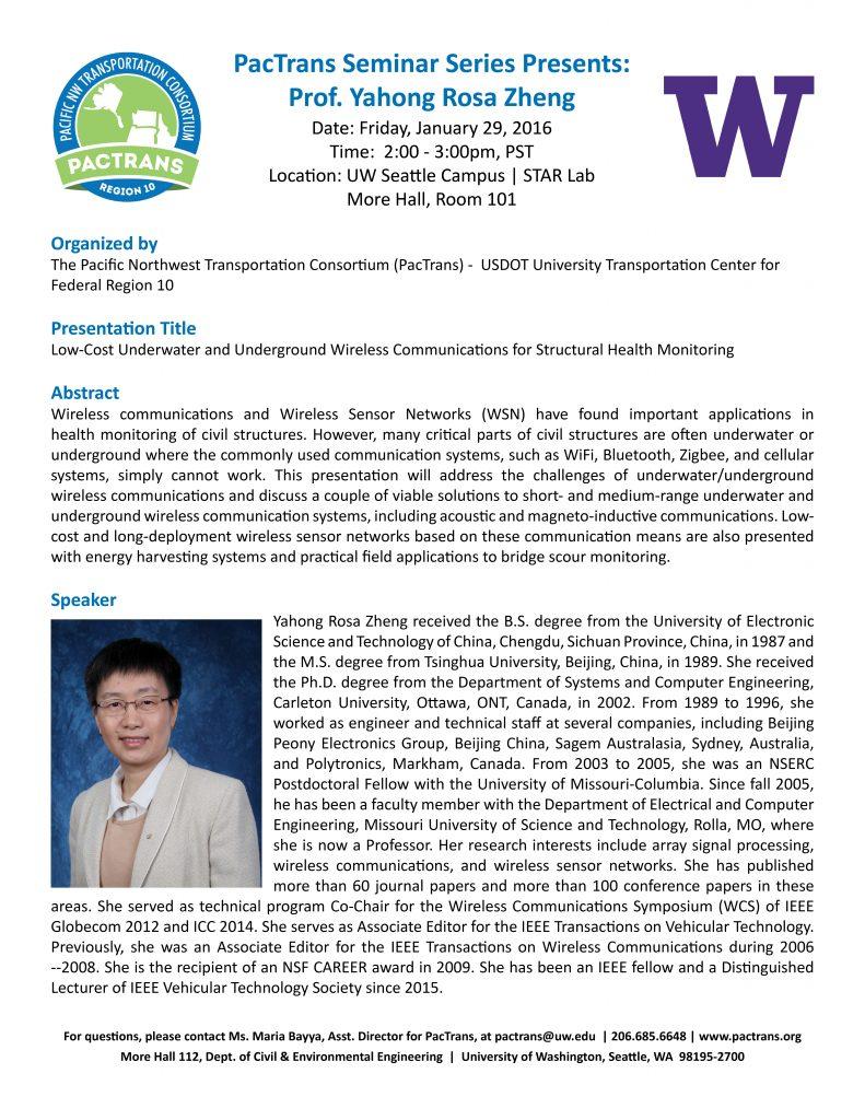 Zheng Seminar