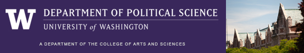 Political Science Department masthead