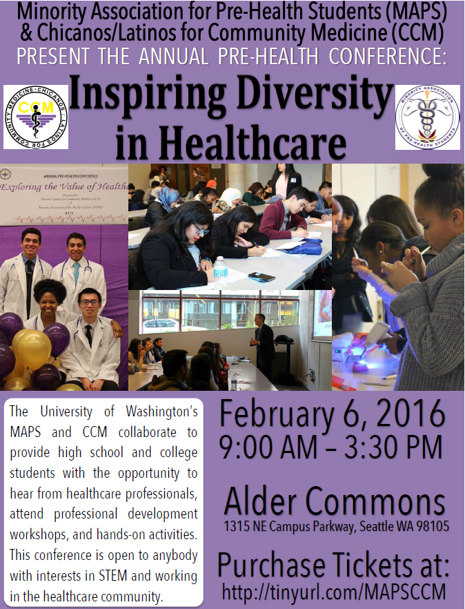 MAPS CCH pre-health conference 2016