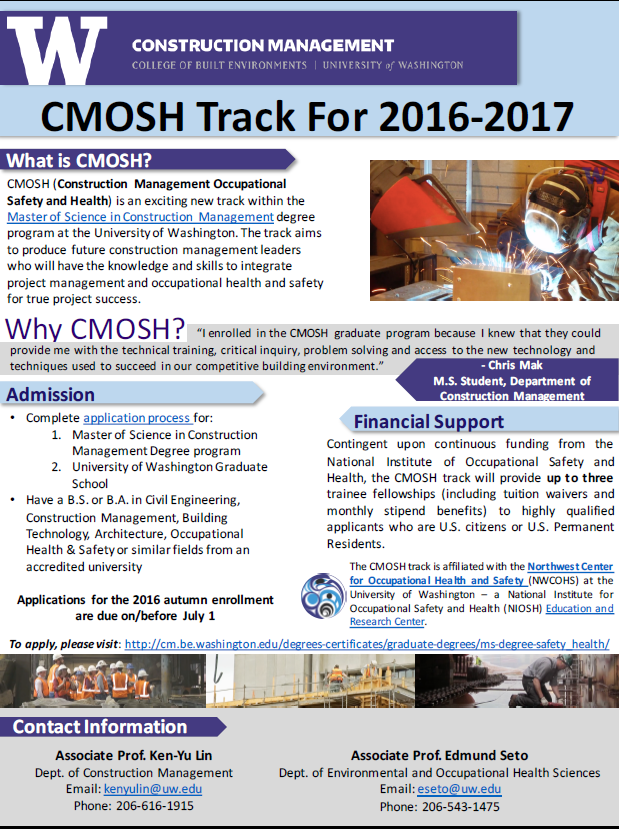 CMOSH 2016