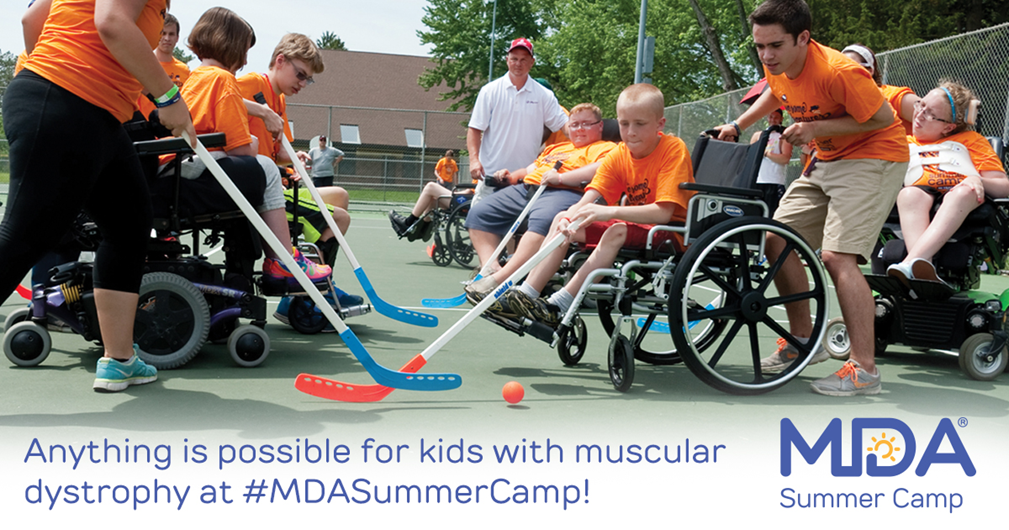 MDA Summer camp
