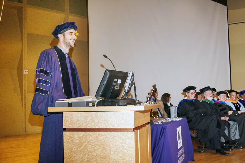UW College of Mechanical Engineering Convocation on 6/16/13 in K