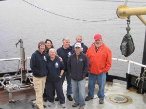 2013 winter cyst survey crew