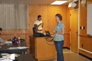 Presenter at the AHAB stakeholder workshop