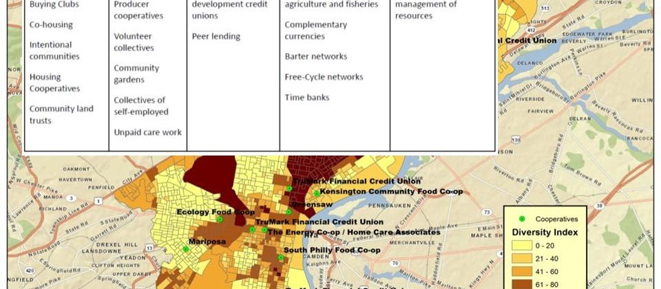 Collaborative Research Mapping the US Solidarity Economy