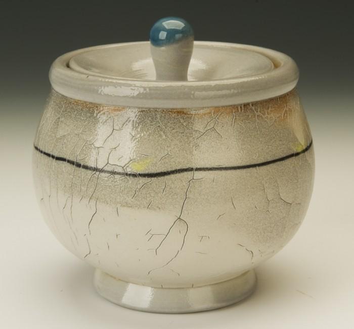 Gold Finch Jar