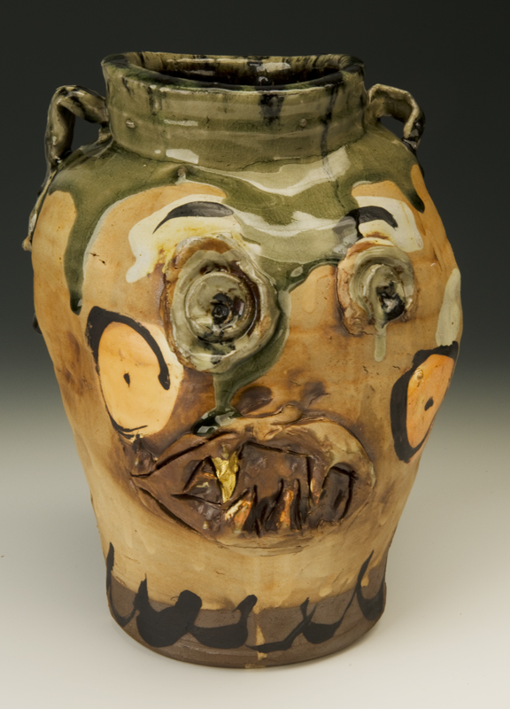 Gold Tooth Vase